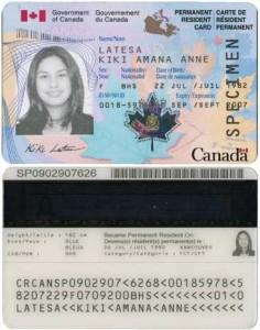 rezidenta permanenta Canada