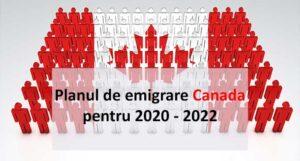 Emigrare Canada 2020. Canada primeste mai multi emigranti economici.