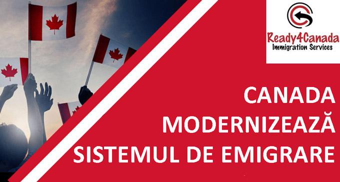 Emigrare Canada Modernizarea sistemul de emigrare Canada