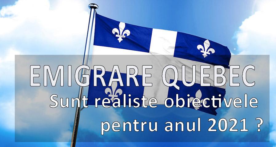 Emigrare Quebec 2021