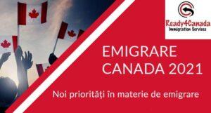 Emigrare Canada 2021