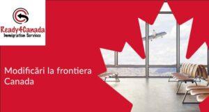 7 septembrie 2021 - Noi conditii de calatorie in Canada